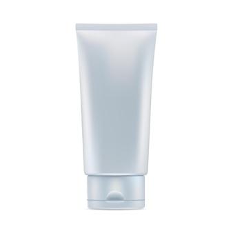 Cosmetische crème tube glanzend cosmetisch product pakket plastic tandpasta tube