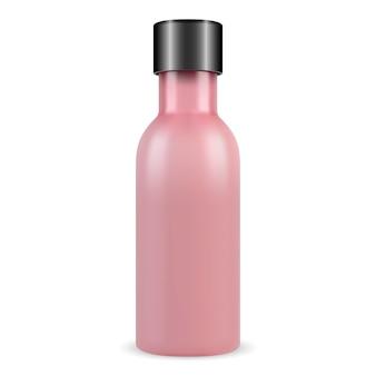 Cosmetische flacon, collageen essentie product, glazen flacon