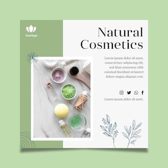 Cosmetische flyer-sjabloon
