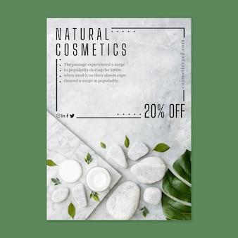 Cosmetische flyer verticaal