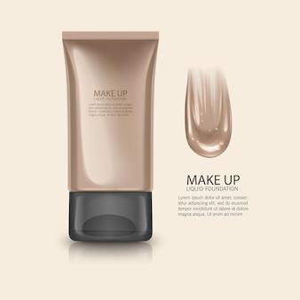 Cosmetische product illustratie