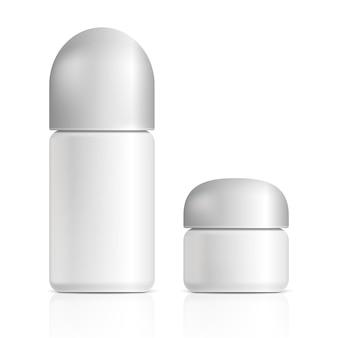 Cosmetische producten. illustratie geïsoleerd