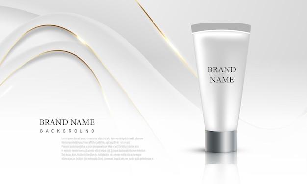 Cosmetische tube voor merkproducten