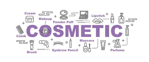 Cosmetische vector banner