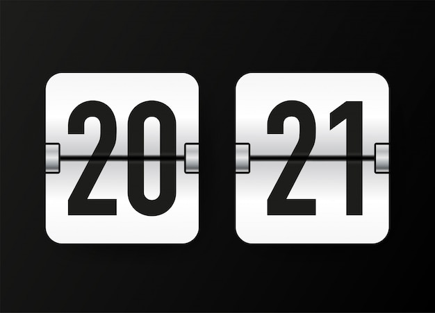 Countdown timer. klok teller.