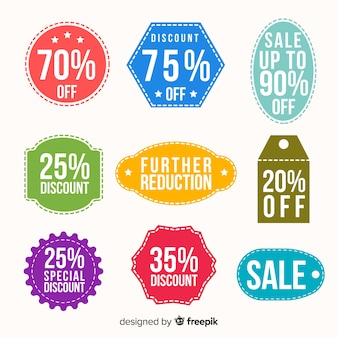 Coupon verkooplabel collectio