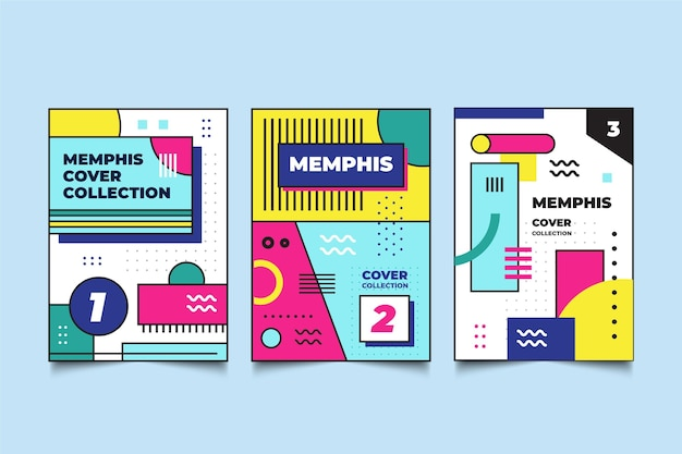 Cover pack memphis ontwerp