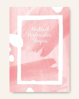 Cover set met abstracte vormen