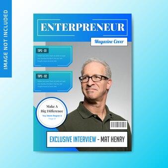 Cover van zakelijk tijdschrift