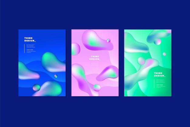 Covers in vloeibare stijl