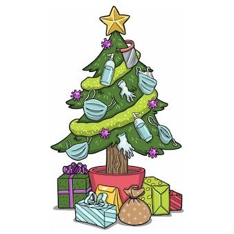 Covid-kerstboom