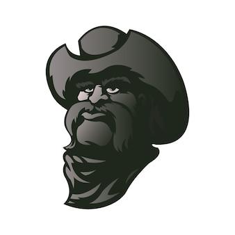 Cowboy karakter illustratie