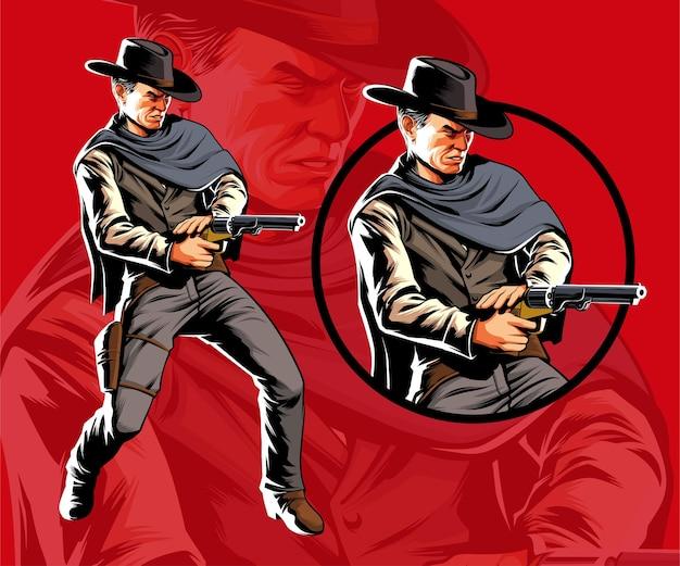 Cowboy schieten