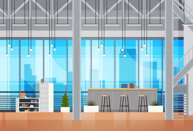 Coworking space interior open coworking center office creatieve werkplaatsomgeving