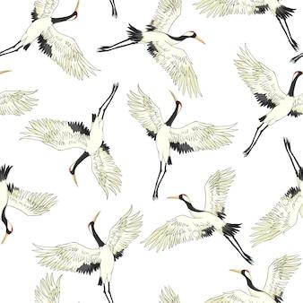 Crane patroon
