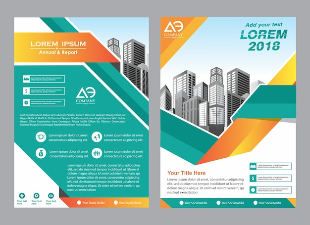 Creatief cover lay-out brochure magazine