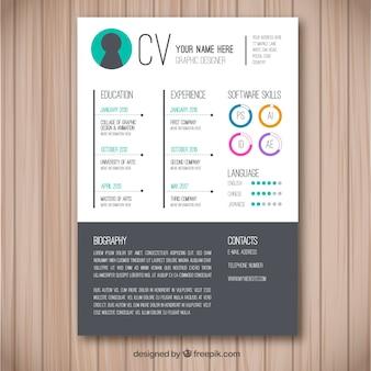 Creatief cv-concept