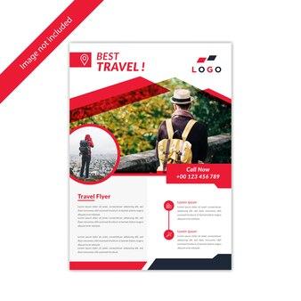 Creatief flyer-ontwerp
