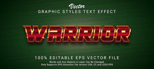 Creatief futuristisch tekststijleffect