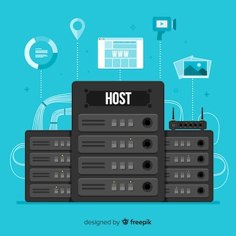 Creatief hostingconcept
