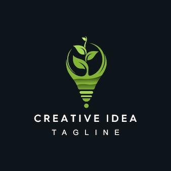 Creatief idee-logo