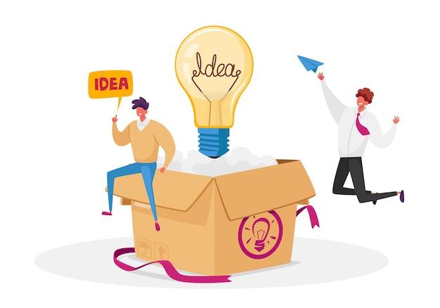Creatief idee-ontwikkeling, denk buiten concept