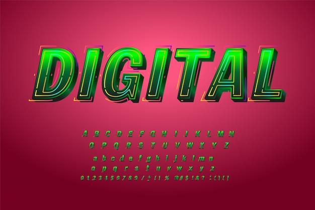Creatief lettertype op roze.