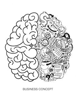 Creatief menselijk brein