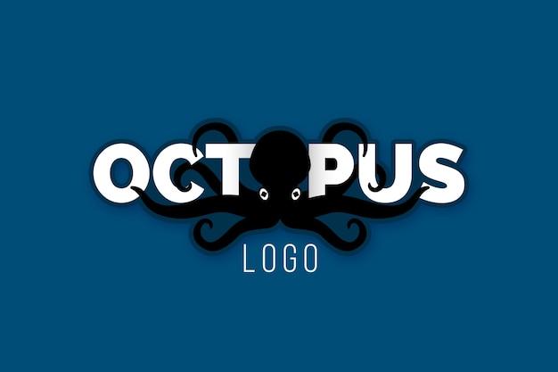 Creatief octopus logo ontwerp