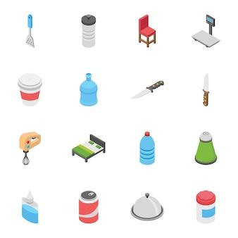 Creatief pakket objecten
