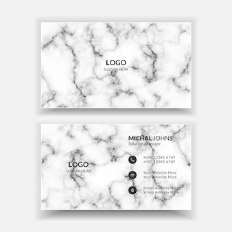 Creatief professioneel visitekaartje vector sjabloonontwerp