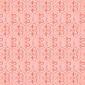 Creatief roze gouden patroon