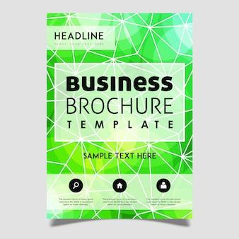 Creatief vector brochure template ontwerp