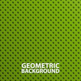 Creatieve 3d abstracte groene geometrische achtergrond.