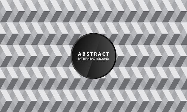 Creatieve 3d geometrische patroonachtergrond