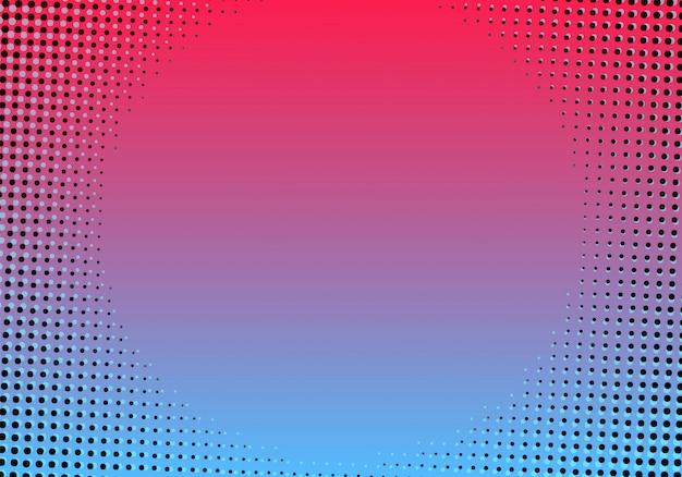 Creatieve achtergrond met kleurovergang halftone
