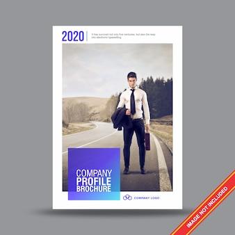 Creatieve bedrijf flyer ontwerpsjabloon