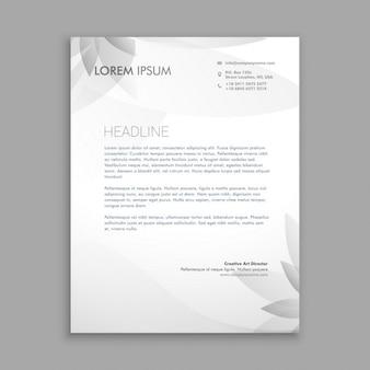 Creatieve bloem briefpapier
