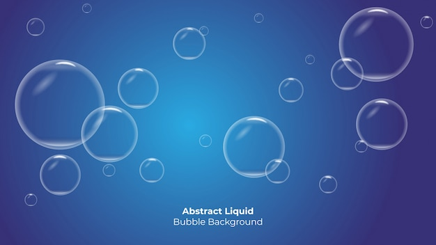 Creatieve bubble abstracte achtergrond