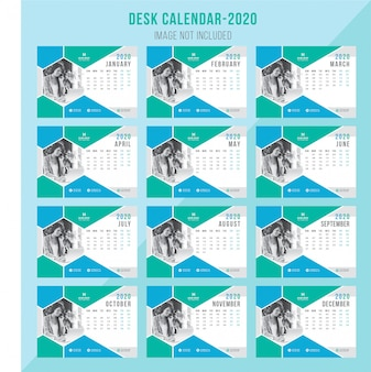 Creatieve bureaukalender 2020