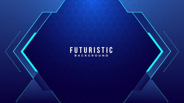 Creatieve futuristische abstracte achtergrond