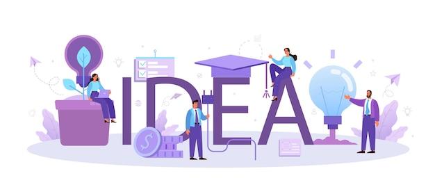 Creatieve innovatie en brainstorm
