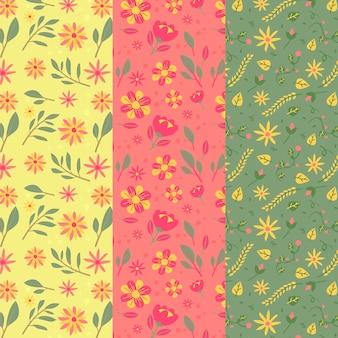 Creatieve lente patrooncollectie