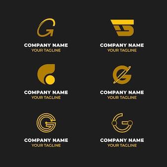 Creatieve letter g logo sjablonen