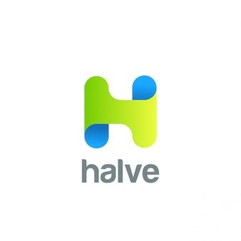 Creatieve letter h logo pictogram.