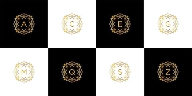 Creatieve luxe branding logo sjabloon