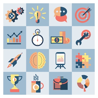 Creatieve pictogrammen instellen