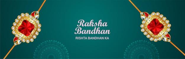 Creatieve rakhi voor festival van broer en zus raksha bandhan