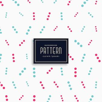 Creatieve stippen patroon vector achtergrond