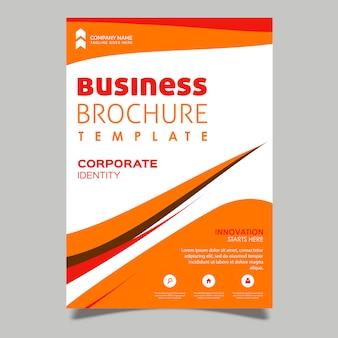 Creatieve vector brochureontwerpen